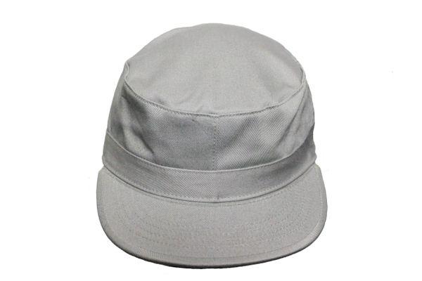 (NEW) GREY PLAIN HAT CAP .. NEWHATTAN