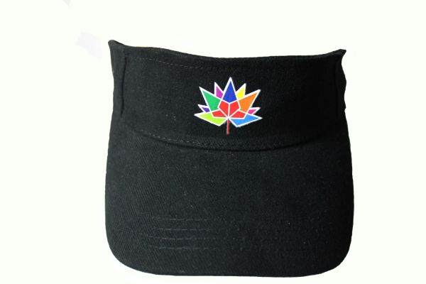 CANADA 150 SUN VISOR HAT CAP... NEW