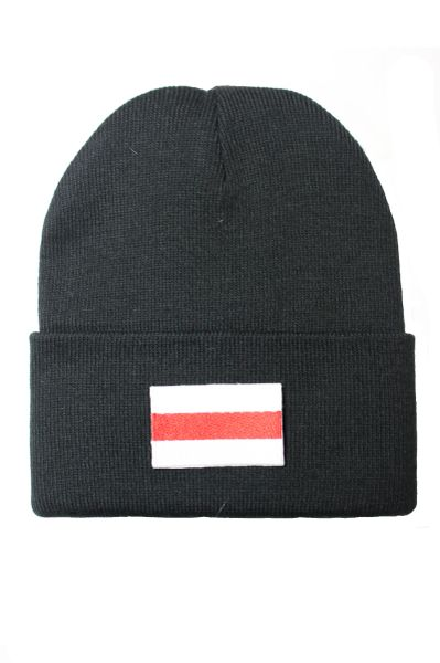 BELARUS (OLD) Country Flag BRIM Knitted HAT CAP choose your color BLACK, WHITE, RED, PINK, BLUE... NEW