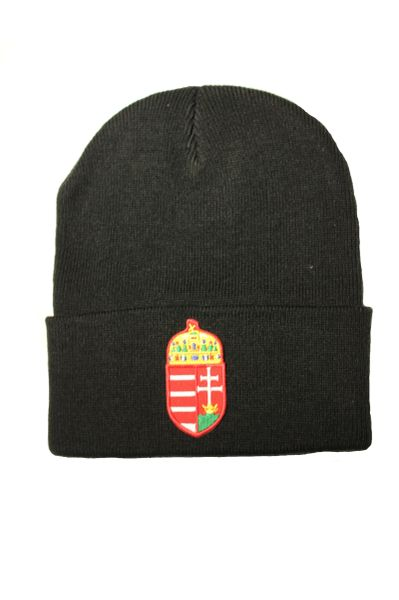 HUNGARY (CREST) Country Flag BRIM Knitted HAT CAP choose your color BLACK, WHITE, PINK... NEW