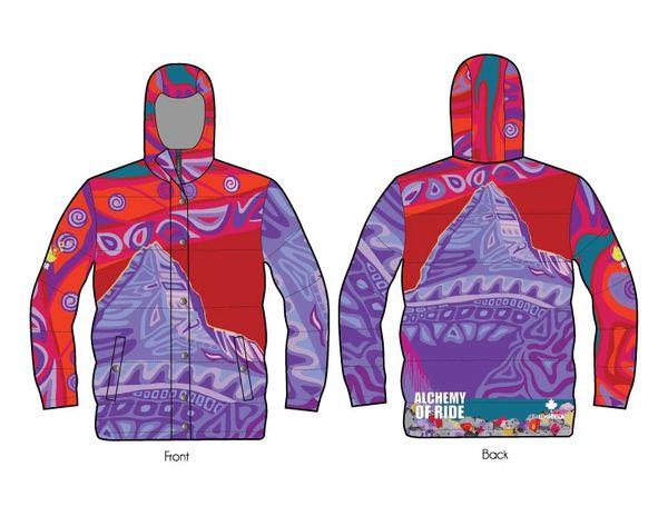 Colours of Assiniboine full zip down jacket