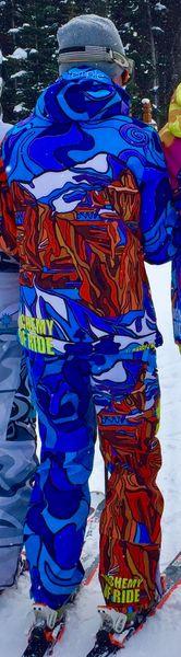 Mt Temple full zip technical jacket