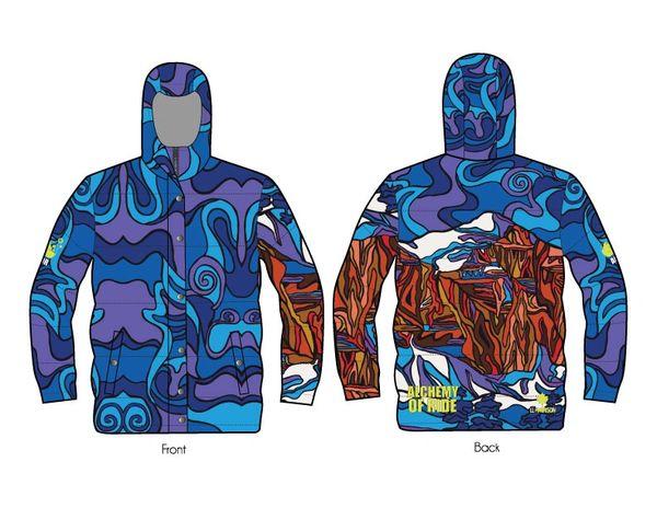 Mt Temple full zip down jacket