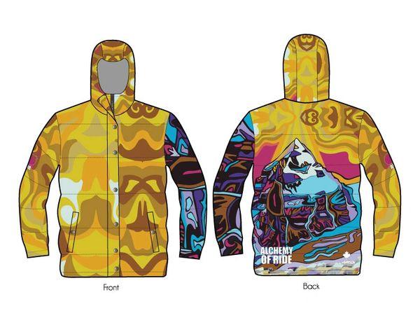 Transcendence full zip down jacket