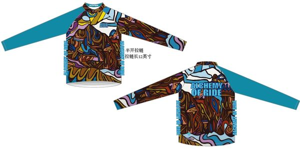 Into the Mystic Long Sleeve zip thermal