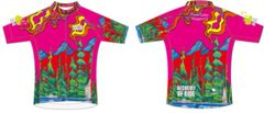 Three Sisters Playground Ladies full zip short sleeve jersey CLUB fit
