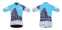 Black Tusk Men's Full Zip short sleeve cycling jersey.