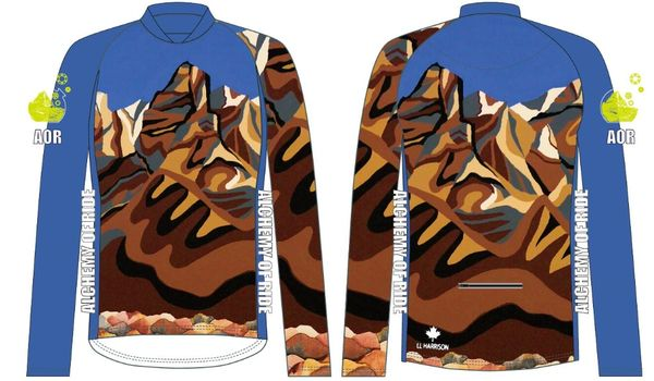 Rundle Range Ladies MTB long sleeve jersey
