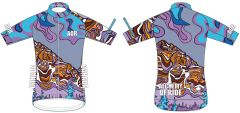 Weather Coming In Ladies short sleeve full zip cycling jersey CLUB FIT