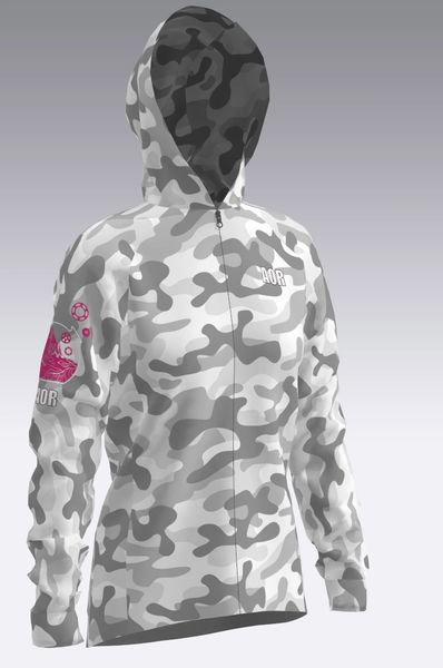 Camo Ladies Wind jacket - lifestyle fit
