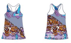 WEATHER COMING IN LADIES RACER BACK TANK