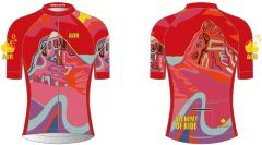 Sisters on Fire Ladies Full Zip Short Sleeve Cycling Jersey