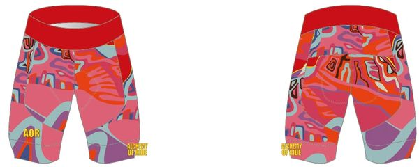 SISTERS ON FIRE BIB SHORTS (image not showing bib)