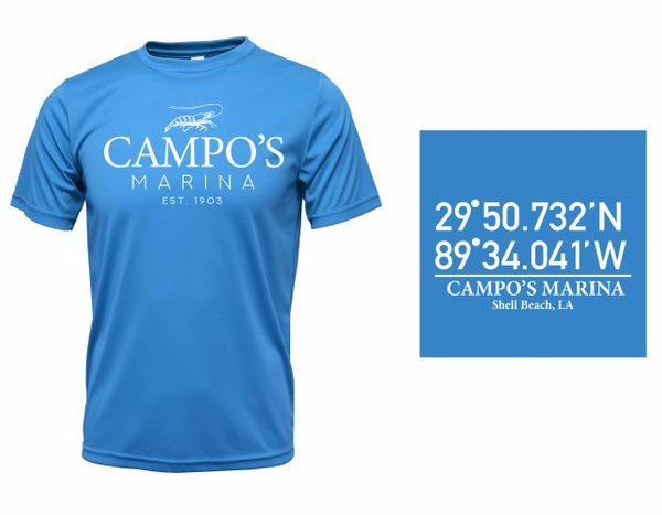 Campo's Dryfit Short Sleeve (Colors)