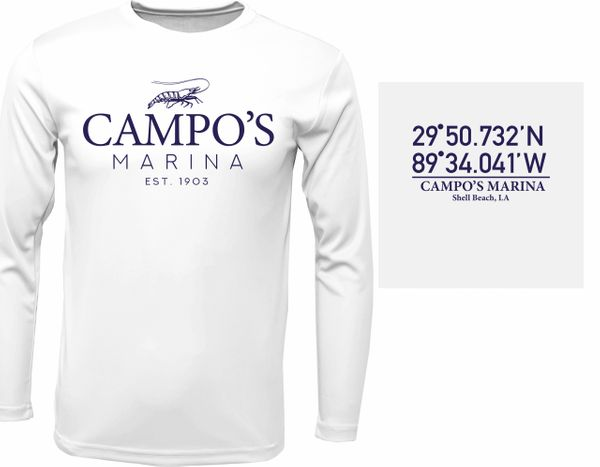 Campo's Dryfit Long Sleeve (Basic Colors)