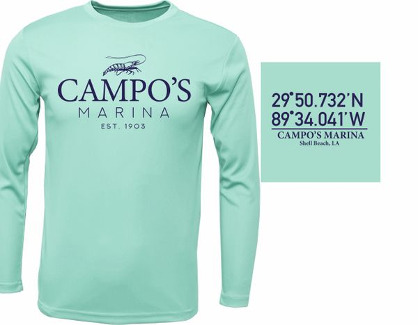 Campo's Dryfit Long Sleeve (Coastal Colors)