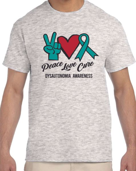 Peace Love Cure T-Shirt