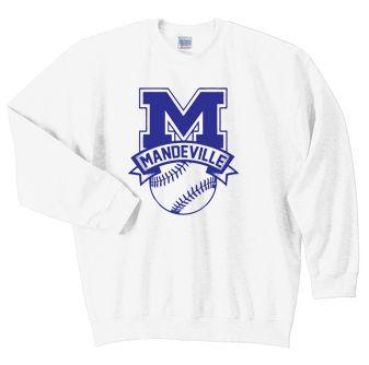 MHS Baseball Crew Sweatshirt