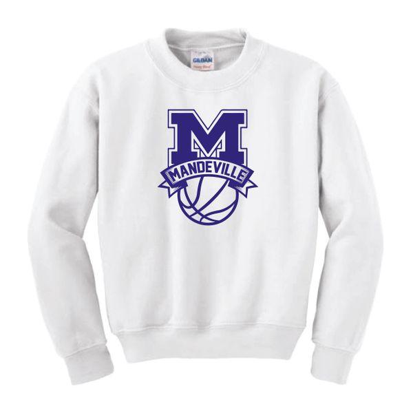 MHS Basketball Crew Sweatshirt