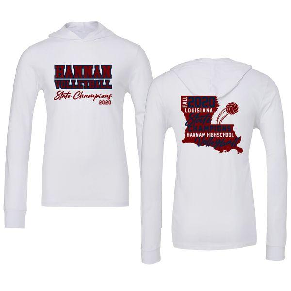 Hannan Volleyball hooded t-shirt