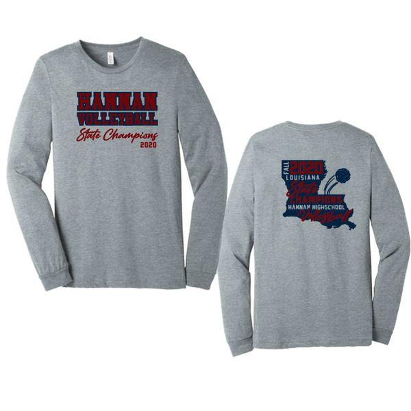 Hannan Volleyball Long Sleeve T-shirt