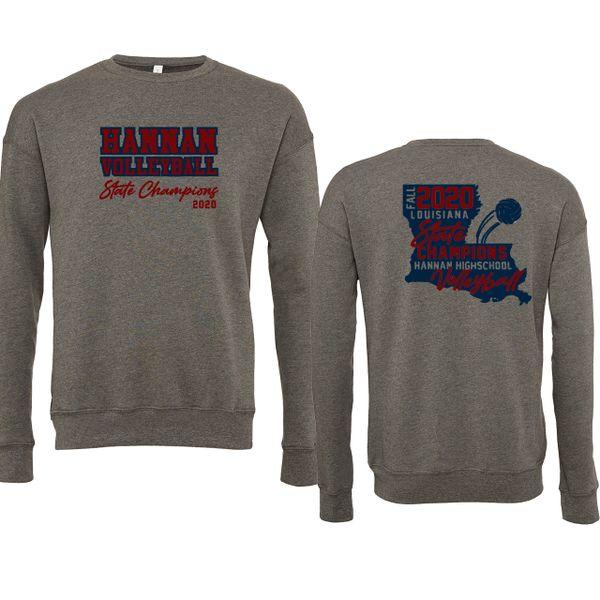 Hannan Volleyball Crew Sweatshirt