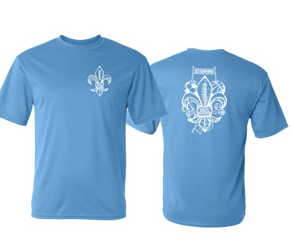 St Tammany Adapted PE Short Sleeve Dryfit