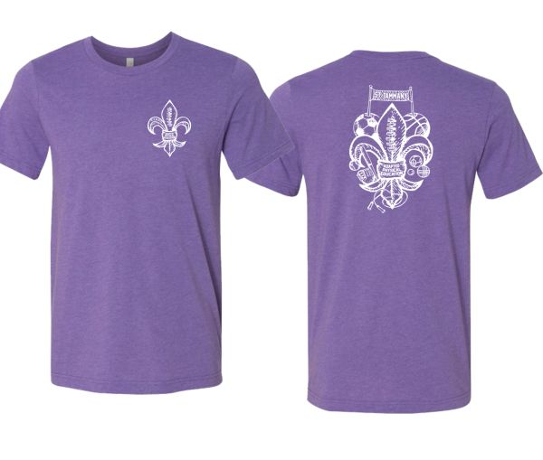 St.Tammany Adapted PE Purple T-Shirt