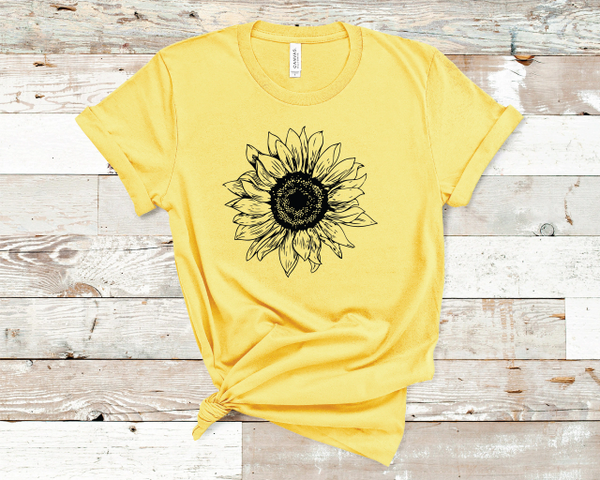 Sunflower Crew Neck