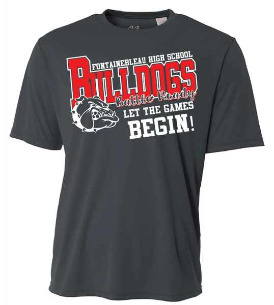 FHS Volleyball - Dri-FIT Practice Shirt - Graphite