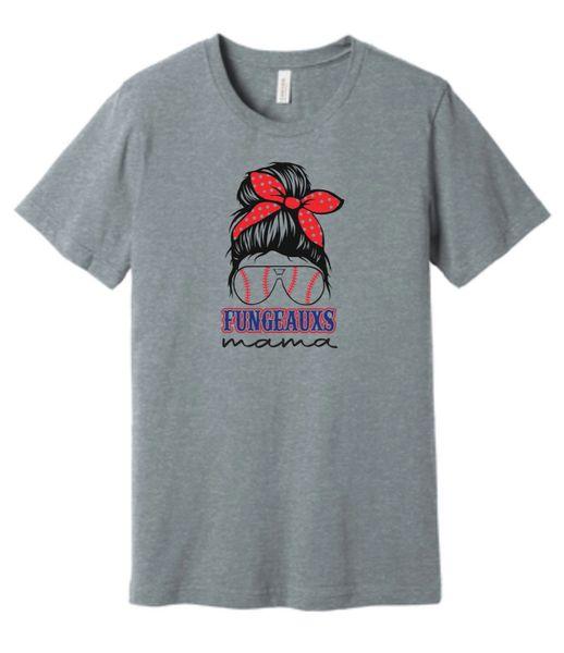 Fungeauxs Mama Canvas T-Shirt