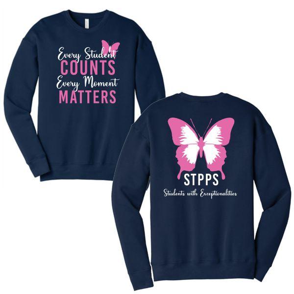STPPS Navy Crewneck Sweatshirt