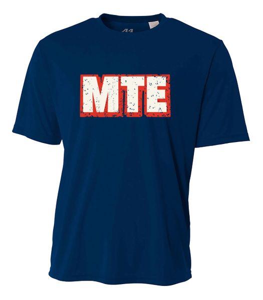 MTE Navy Short Sleeve Dryfit