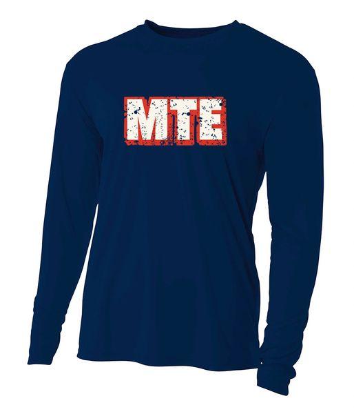 MTE Navy Long Sleeve Dryfit