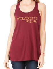 Wolverette Mom Tank