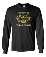 Krewe long sleeve t-shirt