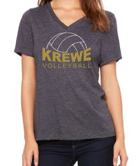 Krewe VB Ladies V-Neck