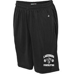 LHS Powerlifting Badger Men Shorts