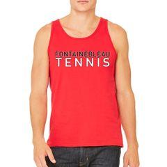 FHS Tennis Red Unisex Tank