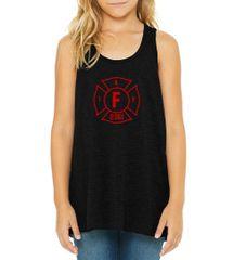 Youth Bella Flowy Racerback Tank #B8800Y