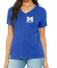 """MHS Basketball Ladies V-neck """"M"""""""