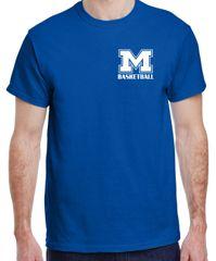 "MHS Basketball T-Shirt ""M"""