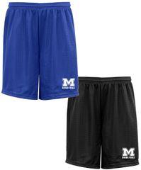 MHS Basketball Mesh Shorts