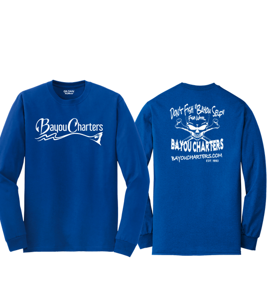 Bayou Charters long sleeve t-shirt
