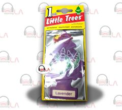 Little Trees Hanging Car and Home Air Freshener, Lavender(Pack of 24)