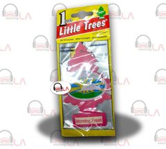 Little Trees Hanging Car and Home Air Freshener, Morning Fresh(Pack of 24)
