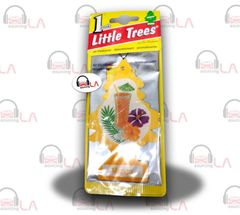 Little Trees Hanging Car and Home Air Freshener, Mango(Pack of 24)