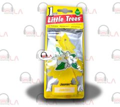 Little Trees Hanging Car and Home Air Freshener, Jasmine(Pack of 24)