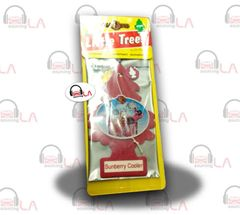 Little Trees Hanging Car and Home Freshener, Sunberry Cooler(Pack of 24)