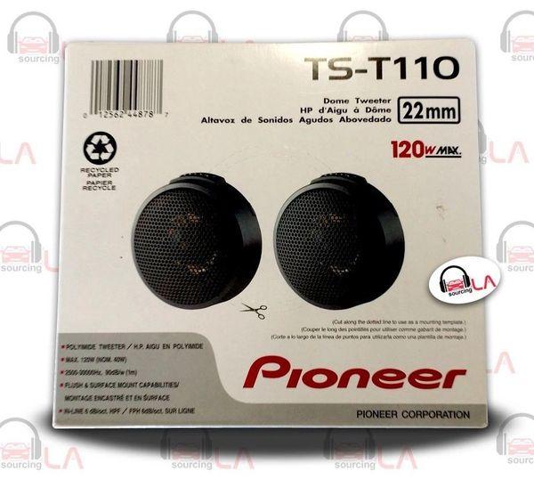 """Pioneer TST110 .87"""" 240W Hard Dome Car Audio Tweeter Speakers"""